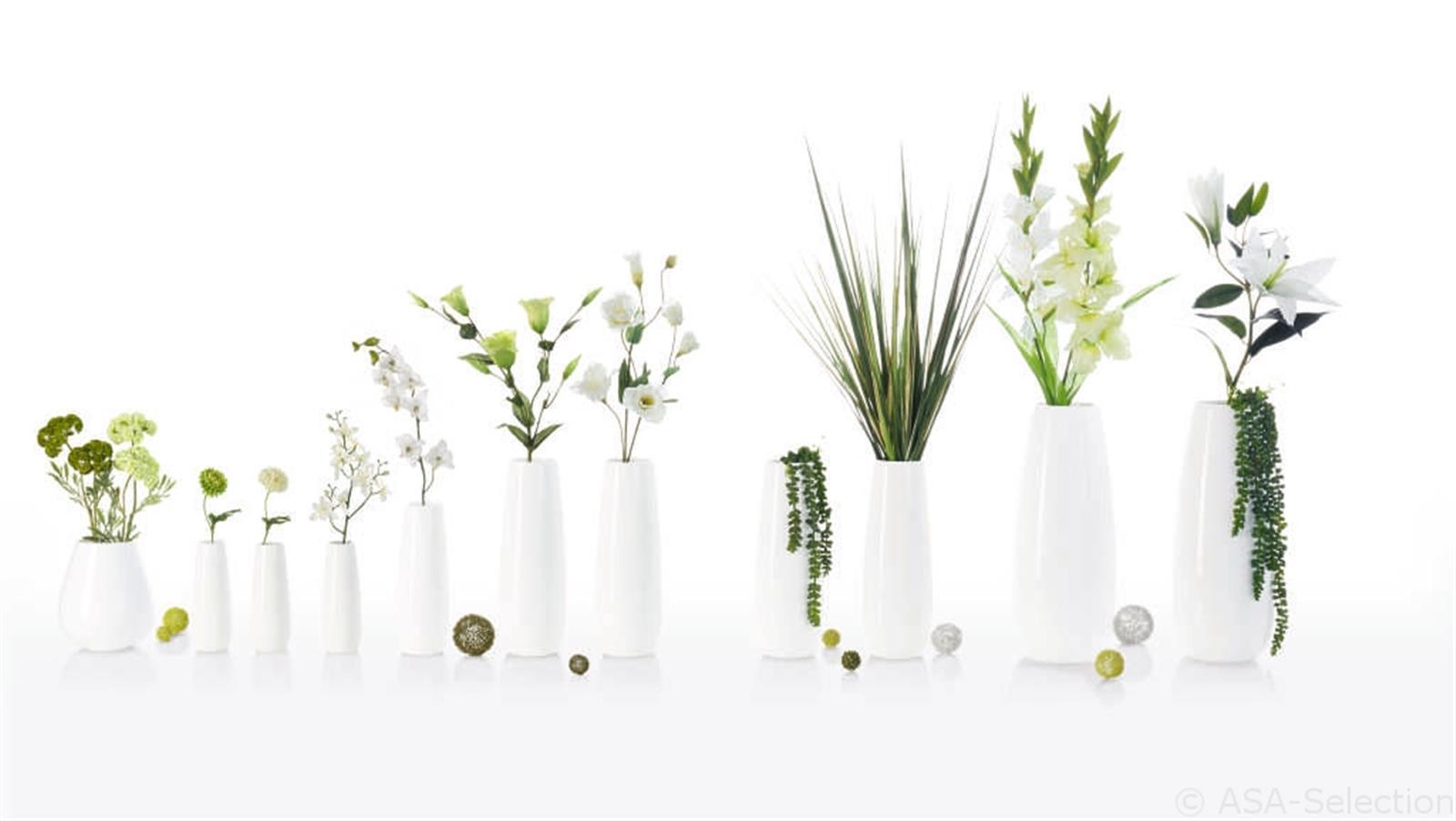Vase Ease Xl Weiss 60cm Von Asa