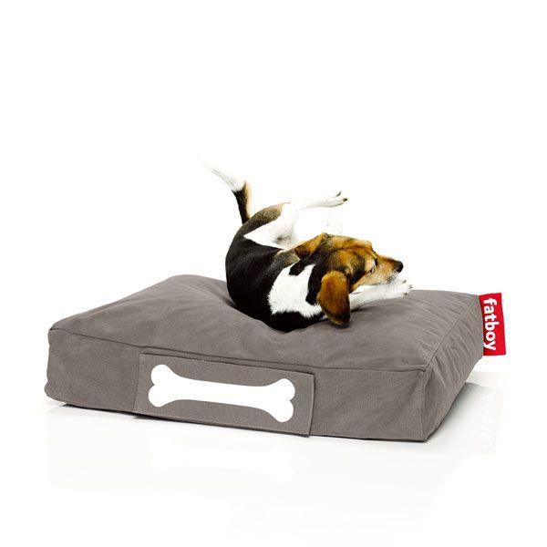 Hundekissen Doggielounge Stonewashed Taupe Klein