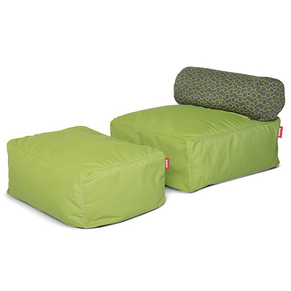 sitzkissen tsjonge jongetje circles green von fatboy. Black Bedroom Furniture Sets. Home Design Ideas