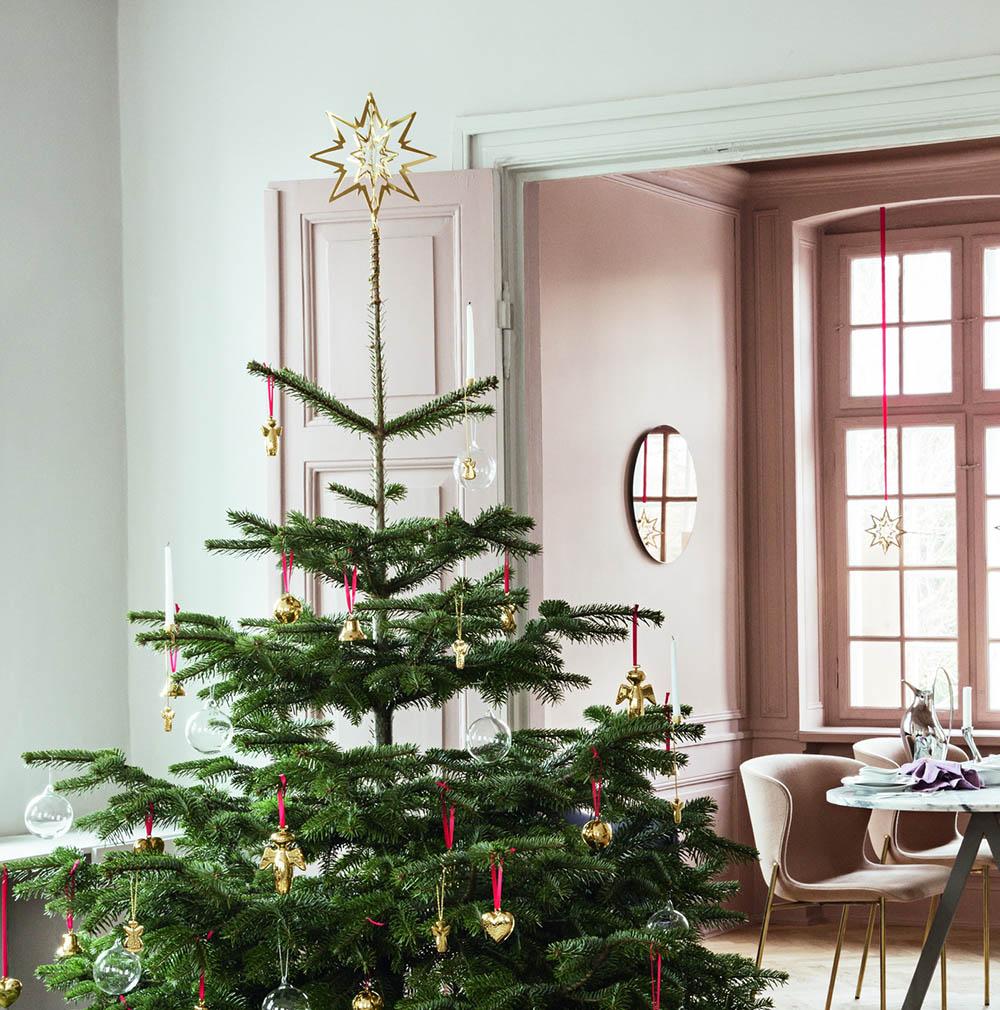 Wendt Und Kühn Weihnachtsbaum.Georg Jensen Weihnachtsbaum Kerzenhalter 2017 Raphael Gold
