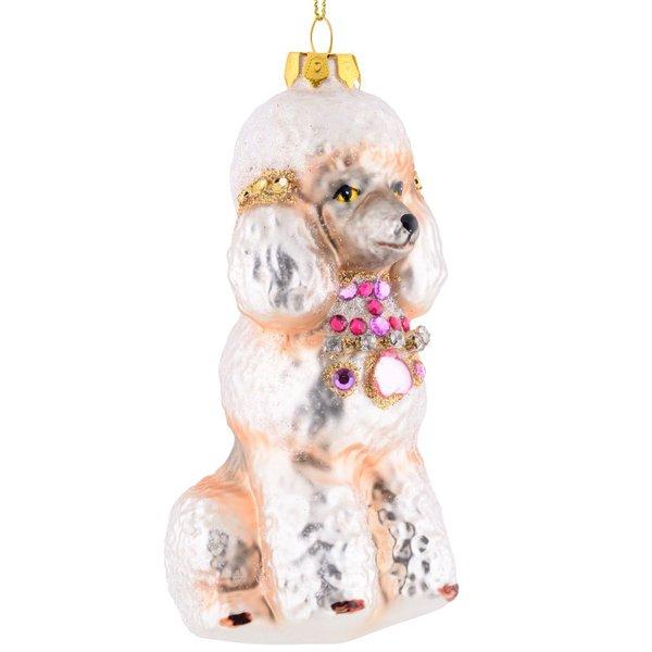 Christbaumschmuck Hund Pudel Mit Collier Von Gift Company