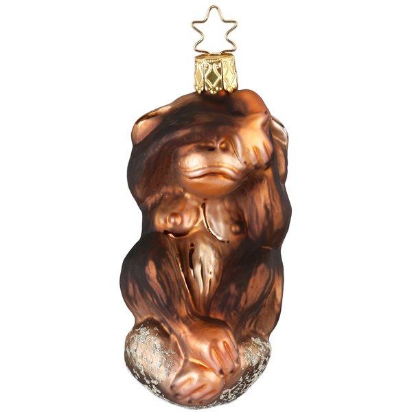 Christbaumschmuck Affe Nichts Sehen Von Inge Glas