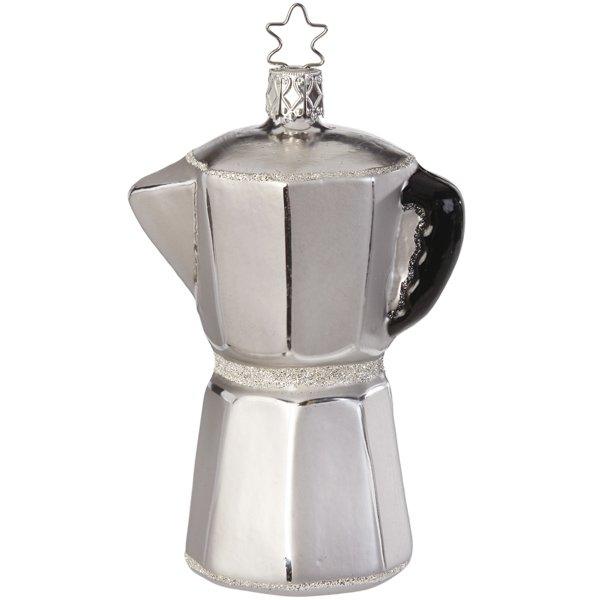 Christbaumschmuck Espressokanne Von Inge Glas