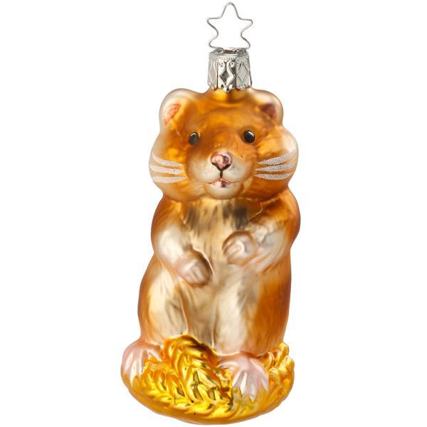 Christbaumschmuck Hamster Von Inge Glas
