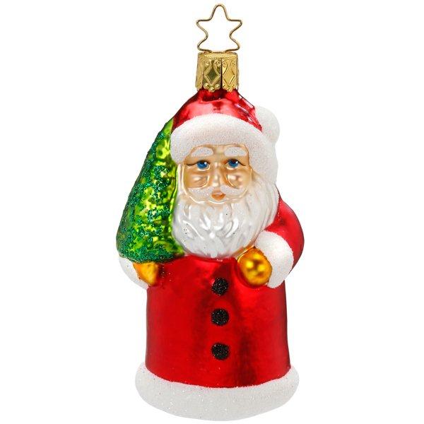 Christbaumschmuck Happy Holiday Weihnachtsmann Von Inge Glas