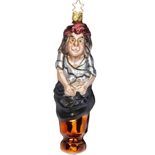 Christbaumschmuck Hexe Baba Jaga Von Inge Glas