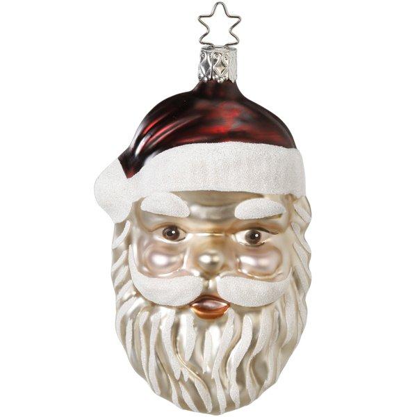 Christbaumschmuck Vintage Santa Weihnachtsmann Von Inge Glas