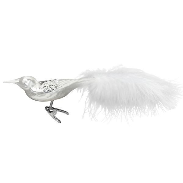 Christbaumschmuck Vogel Silver Bird Von Inge Glas