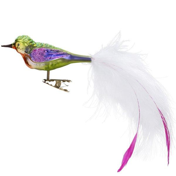 Christbaumschmuck Vogel Prachtiges Gefieder Von Inge Glas
