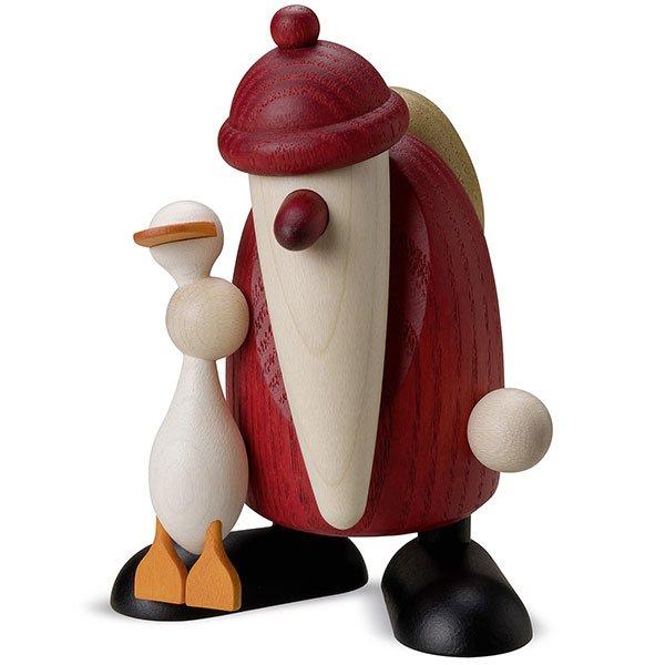 Weihnachtsmann mit Gans Auguste von Köhler Kunsthandwerk