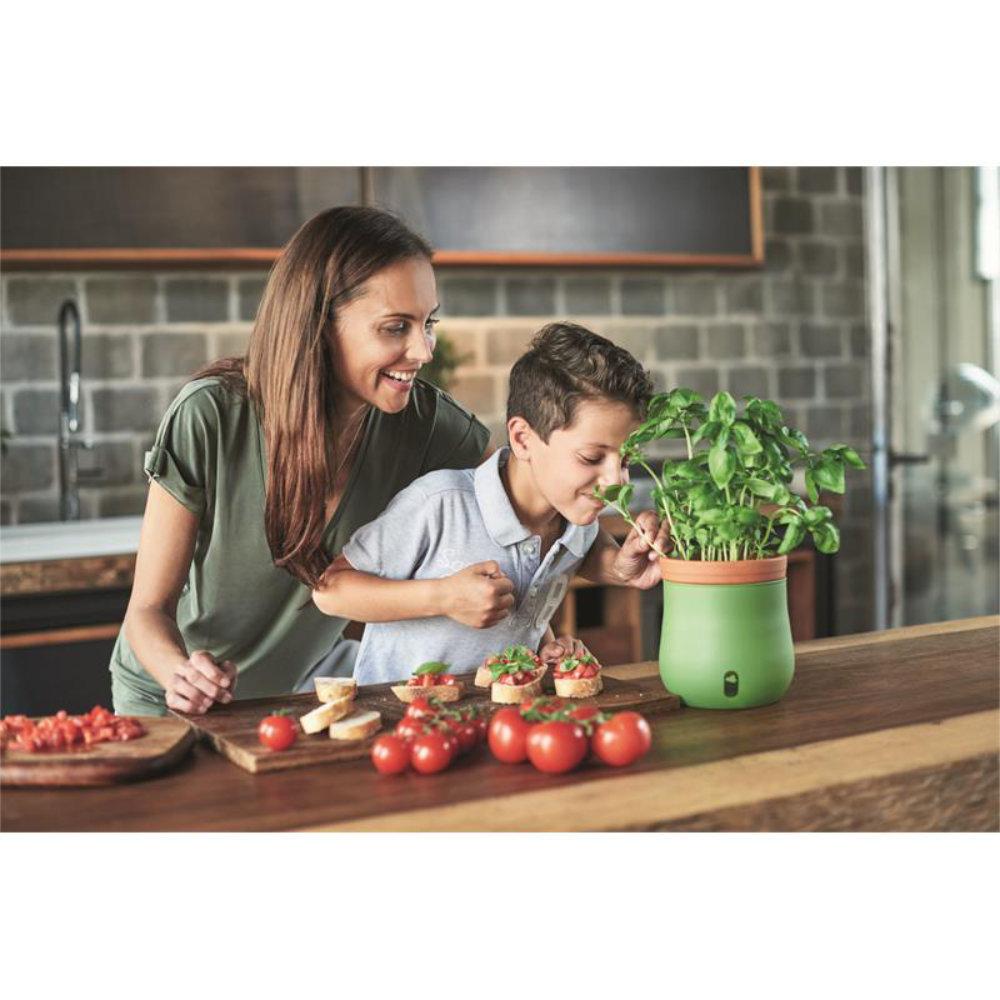 Leonardo Pflanztöpfe im Ständer Serra 3-teilig