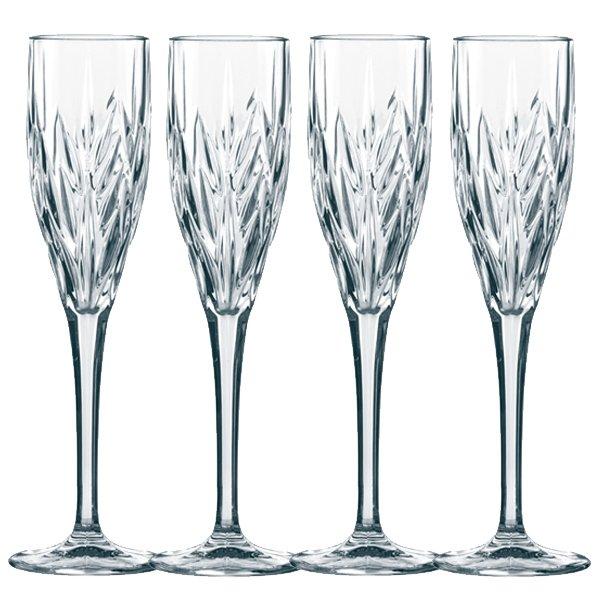 Champagnerglas Sektflote Sektglas Imperial 4 Teilig Von Nachtmann