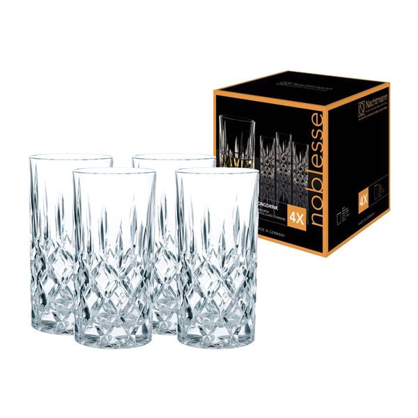 Whiskyglas und Longdrinkglas Noblesse 8-teilig von Nachtmann