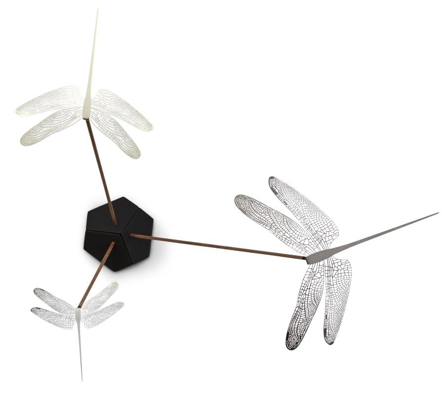 3-teilig Nav Scandinavia Dekorationsobjekte Wonder Dragonfly Set Mixed