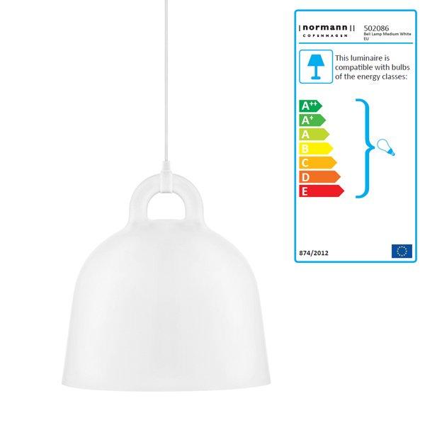 Lampe Bell Weiß Weiß M Von Normann Copenhagen