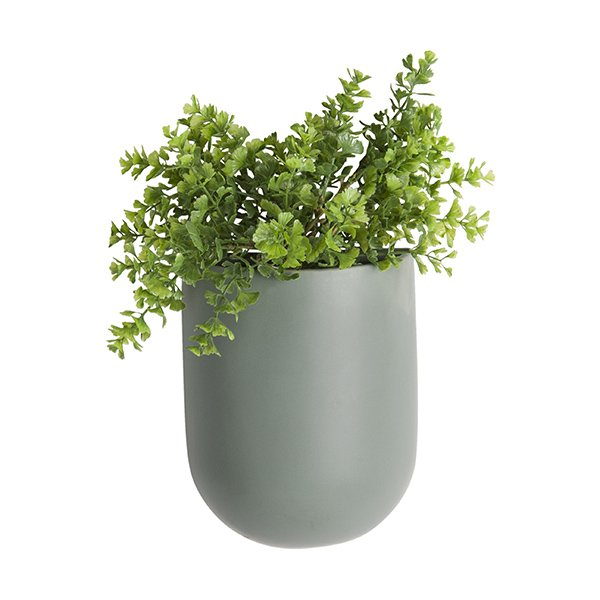 Wand-Blumentopf Oval von Present Time - erkmann