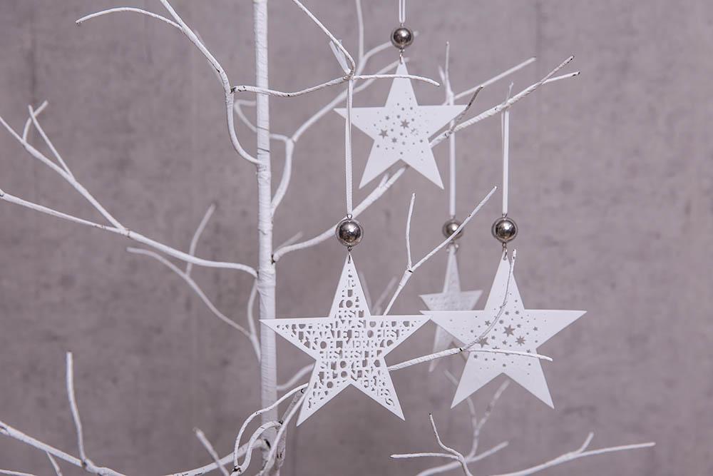 Frohe Weihnachten Anhänger.Räder Design Anhänger Zarte Sterne Frohe Weihnachten Klein