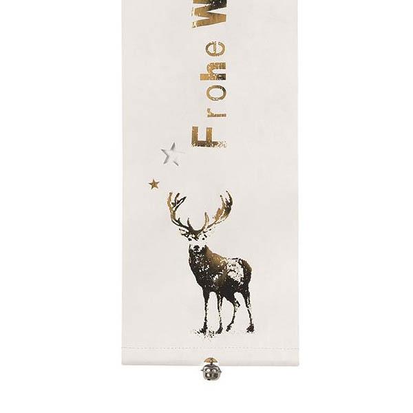 Frohe Weihnachten Gold.Räder Design Banner Frohe Weihnachten Gold