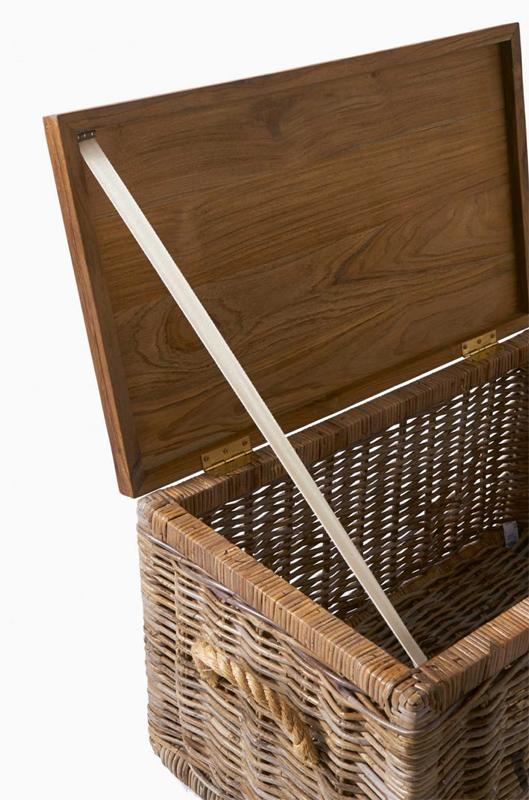 beistelltisch tisch couchtisch truhe rustic rattan von. Black Bedroom Furniture Sets. Home Design Ideas