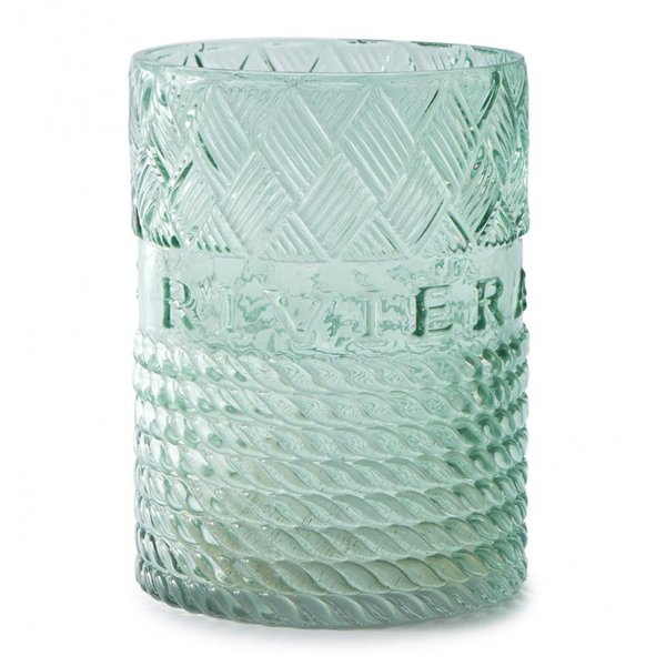 Windlicht Mixed Rope Grun Gross Glas Von Riviera Maison
