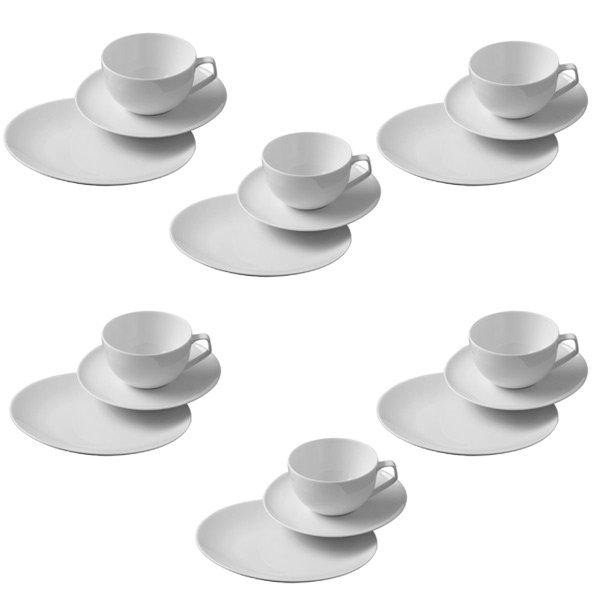f031b227bb Geschirr Kaffeeset Tac Weiß 18-teilig von Rosenthal