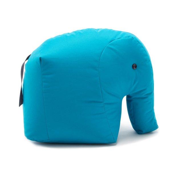 Sitzsack Sitzkissen Elefant Carl Happy Zoo Hellblau Blau Von Sitting