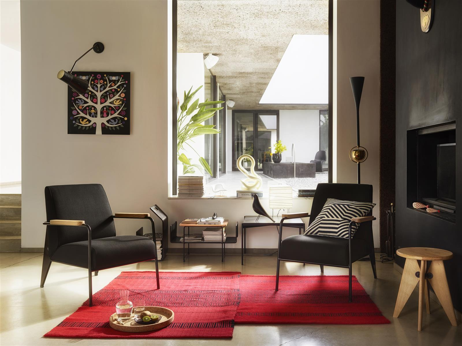 Vitra Dar Stoel : Miniatur stuhl rood blauwe stoel von vitra