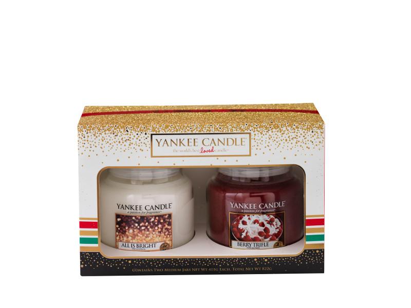 Duftkerzen-Set Weihnachten 2-teilig