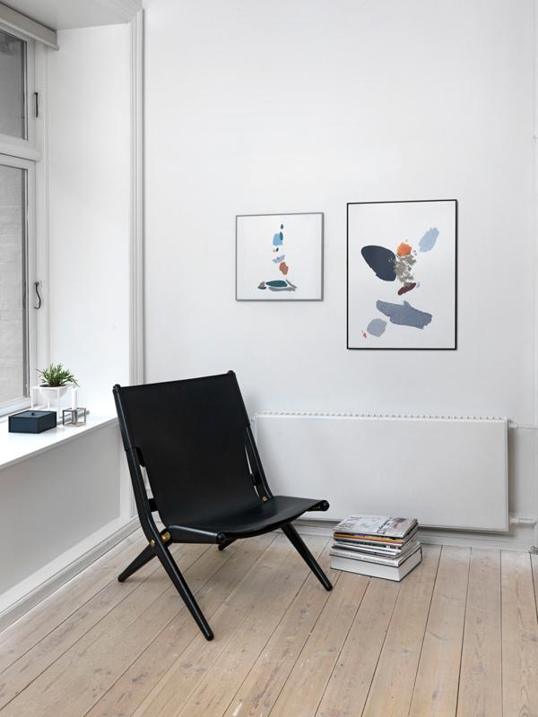 bilderrahmen rahmen illustrate a5 schwarz von by lassen. Black Bedroom Furniture Sets. Home Design Ideas